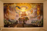 Роспись стен и декоративно-прикладное искусство - Возникновение Вселенной (буддизм)