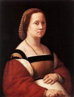 Разное - Рафаэль «Портрет беременной женщины», галерея Палатина, Италия