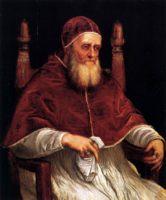 Разное - Тициан Портрет папы Юлия II галерея Палатина