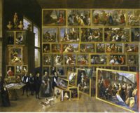 Разное - Леопольд Вильгельм Австрийский в своей галерее в Брюсселе - Давид Тенирс Младший, картины, биография