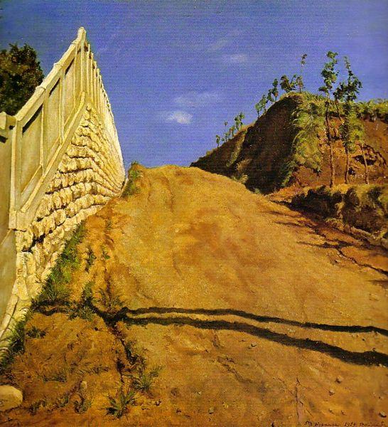 японская живопись - Пейзаж :: Кишида Рюзей