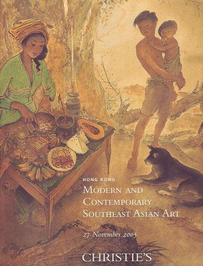Christie's Auction Catalog Modern Southeast Asian Art