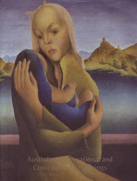 Австралийская, Международная и  современная живопись