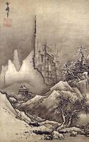 японская живопись - пейзаж