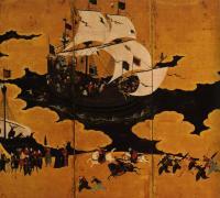 японская живопись - период Азучи-Момояма