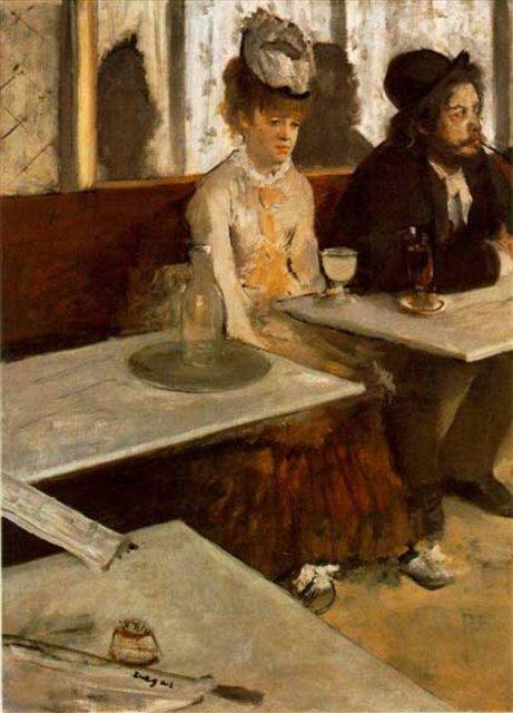 Абсент :: Эдгар Дега - Edgar Degas фото