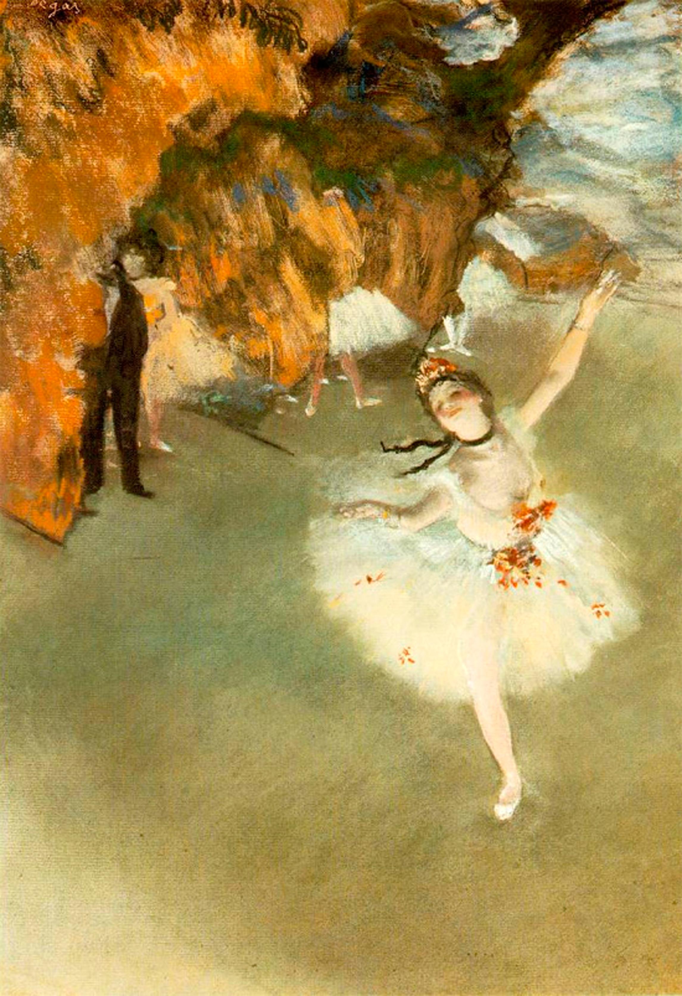 Звезда, Эдгар Дега - Дега Эдгар  ( Edgar Degas ) фото