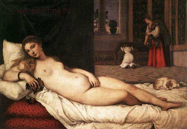 Венера Урбинская :: Тициан - Tiziano Veccellio фото