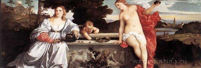 Любовь земная и небесная :: Тициан - Tiziano Veccellio (Тициан) фото