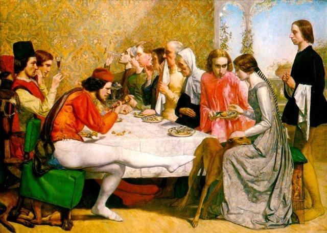 Изабелла, Миллес - Millais, John Everett фото