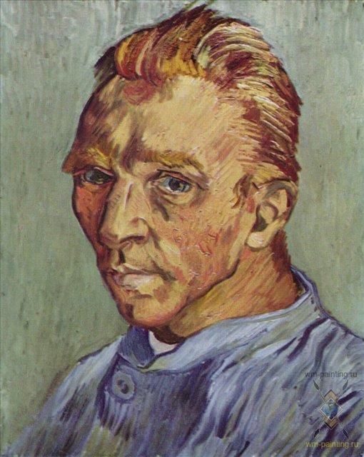 Хронология жизни Ван Гога, автопортрет - Van Gogh (Ван Гог) фото
