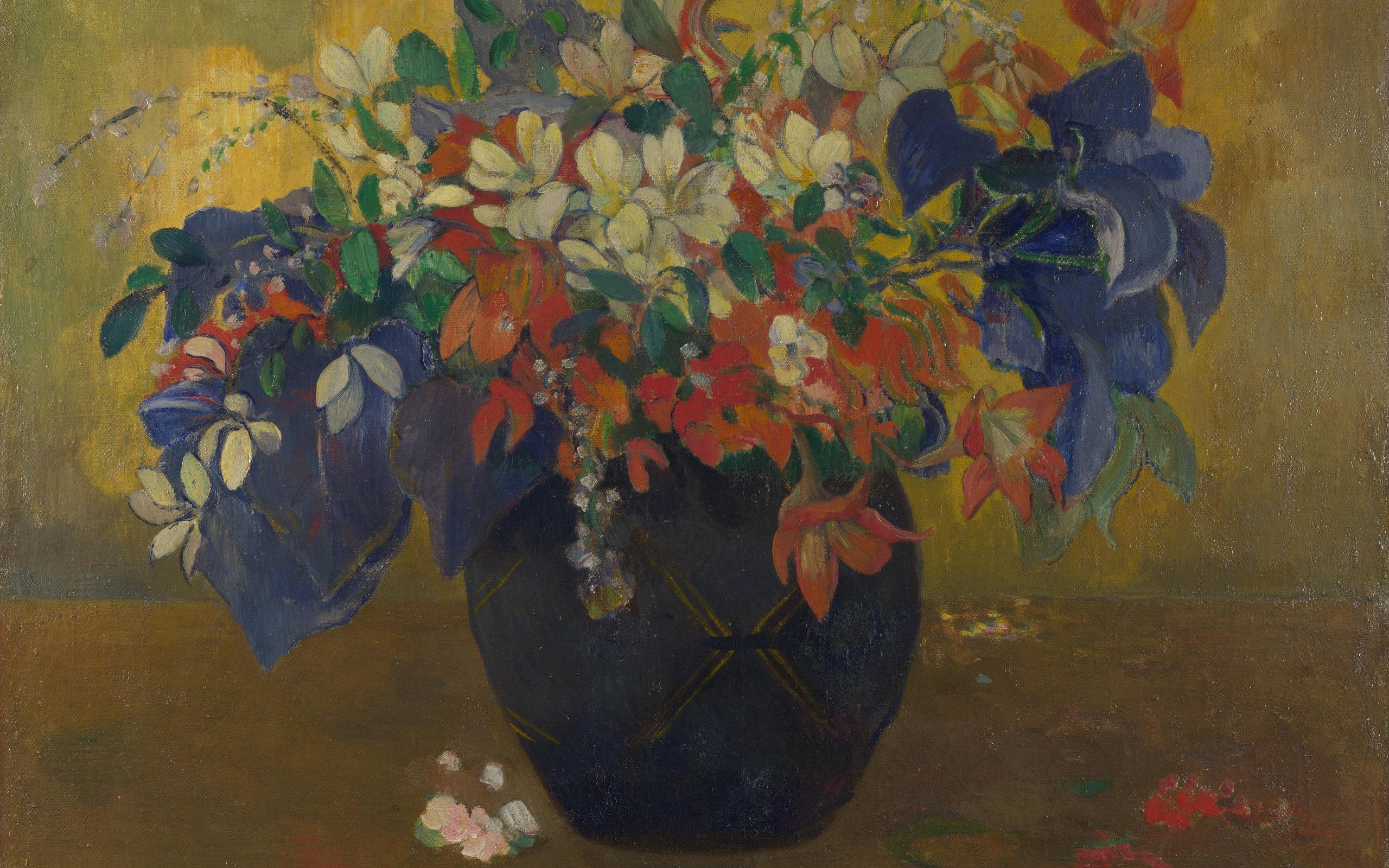 картина < Букет цветов > :: Поль Гоген - Гоген Поль ( Paul Gauguin ) фото