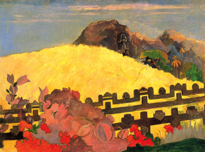 Мараэ :: Поль Гоген, описание картины  - Гоген Поль ( Paul Gauguin ) фото
