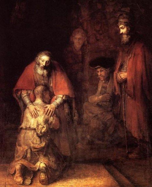 Возвращение блудного сына :: Рембрандт ван Рейн - Rembrandt (Рембрандт) фото
