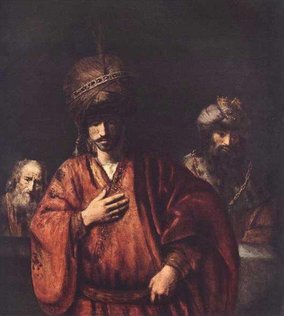 Давид и Урия, Рембрандт, описание картины - Rembrandt (Рембрандт) фото