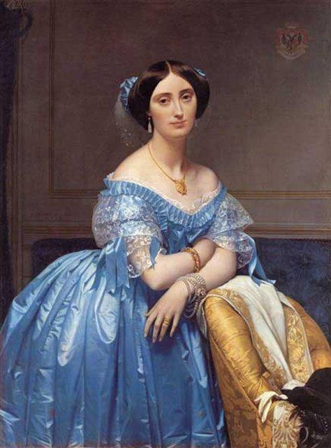Принцесса де Брогли, Энгр - Jean Auguste Dominique Ingres фото