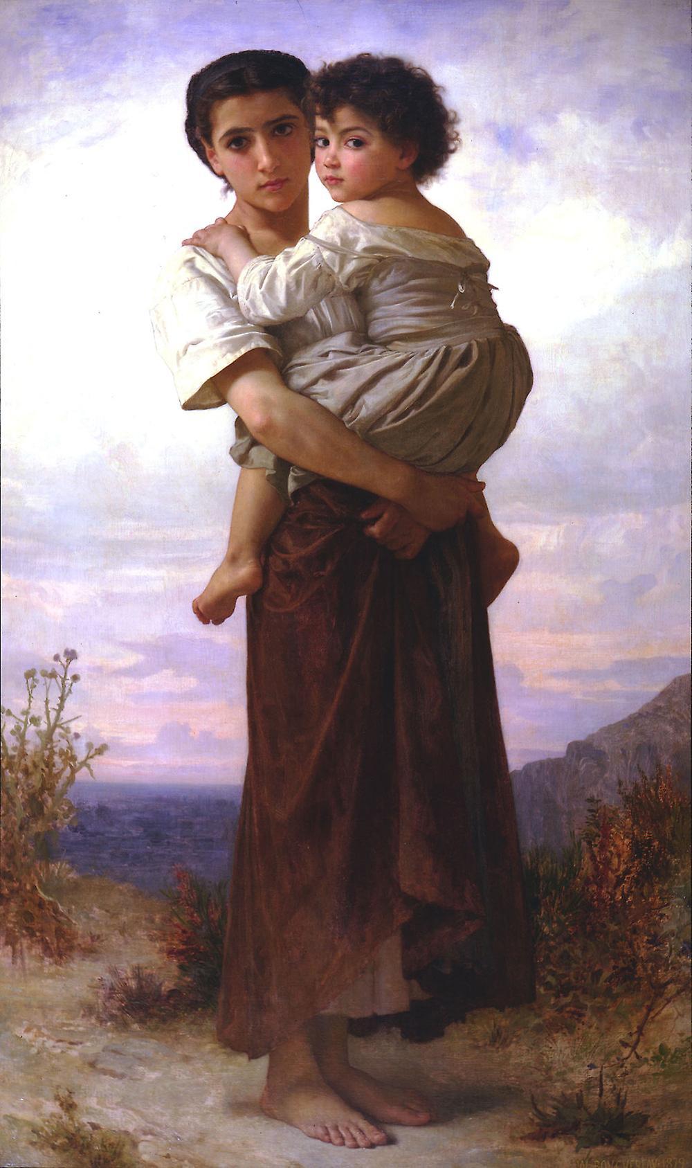 Юные цыгане :: Адольф Бугеро - Adolphe William Bouguereau фото