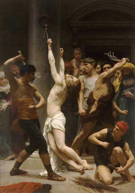 Бичевание Христа, Адольф Бугеро - Adolphe William Bouguereau фото