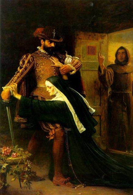 День святого Вафоломеея, Милес,  исторический сюжет - Millais, John Everett фото