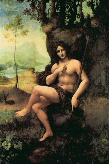 Вакх :: Леонардо да Винчи - да Винчи, Леонардо фото