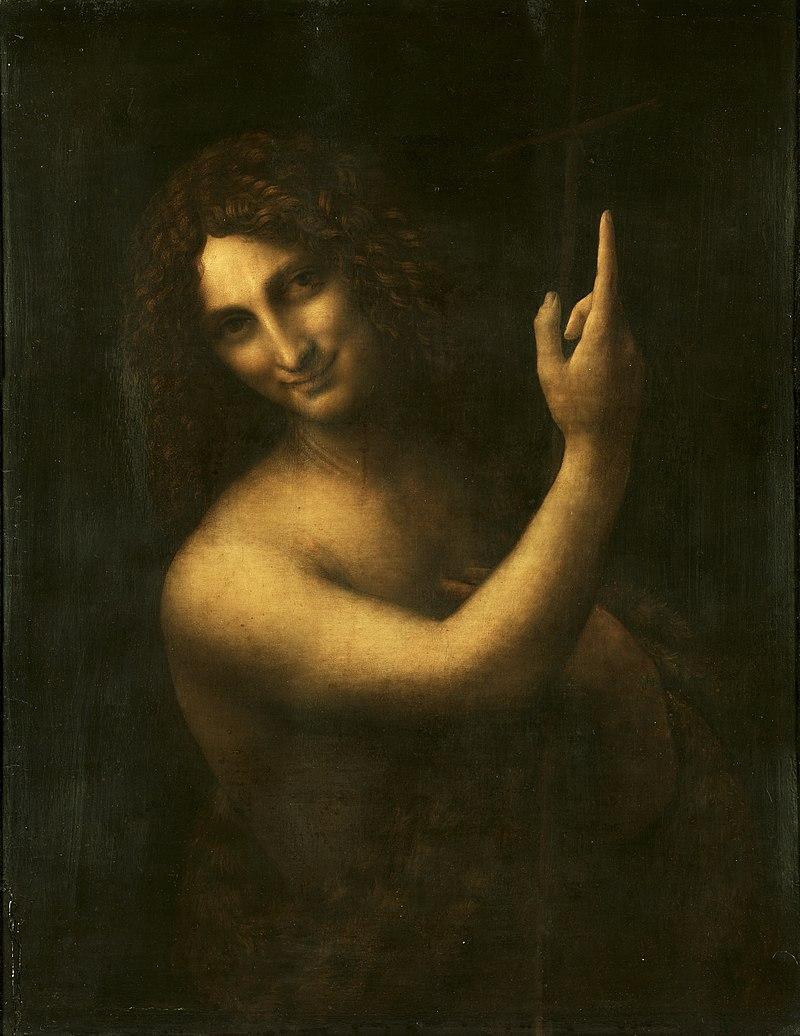 Иоанн Креститель ::  Леонардо да Винчи - да Винчи, Леонардо фото