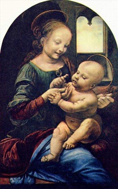 Мадонна Бенуа :: Леонардо да Винчи - да Винчи, Леонардо фото
