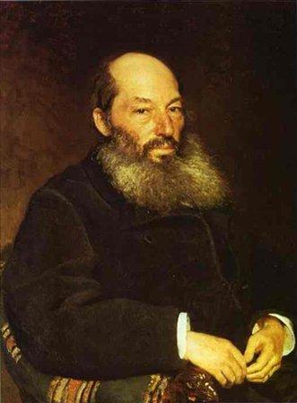 портрет Афанасий Фет :: Репин Илья Ефимович - Ilya Yefimovich Repin фото