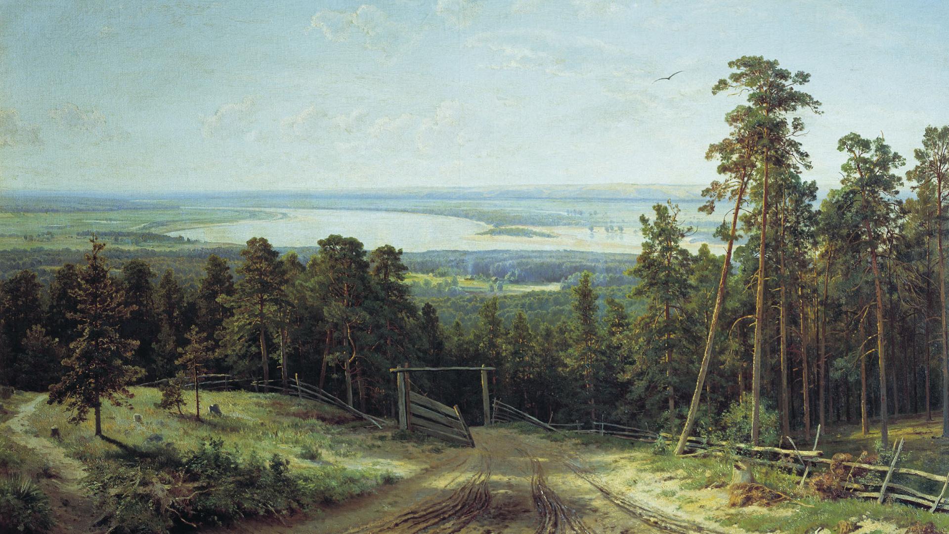 Кама возле Елабуги - Шишкин Иван ( Ivan Shishkin ) фото