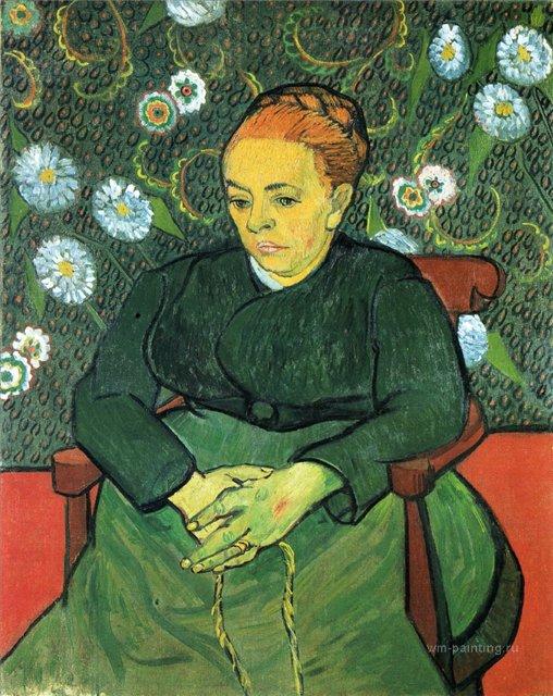 Колыбельная, портрет мадам Рулен :: Ван Гог - Van Gogh фото