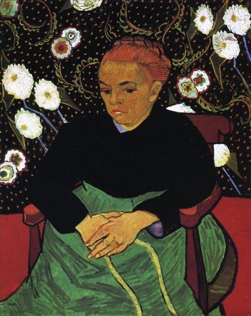 Колыбельная, портрет мадам Рулен :: Ван Гог, картина плюс статья про инвестиции в искусство - Van Gogh фото