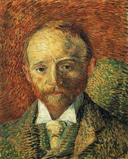 Портрет Александра Рея [ картина - портрет ] :: Ван Гог, описание картины - Van Gogh фото