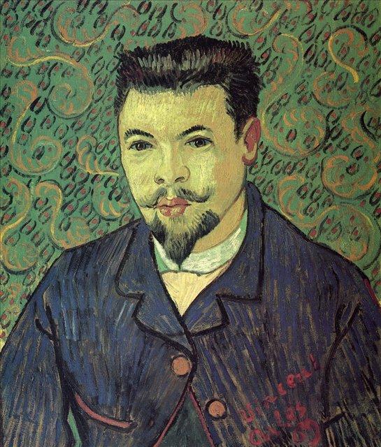 Портрет доктора Феликса Рея :: Ван Гог, описание картины - Van Gogh фото