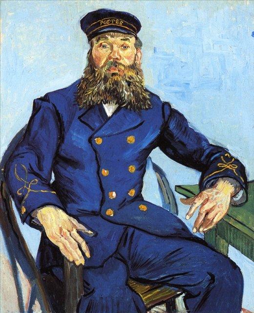 Портрет Жозефа Рулена :: Ван Гог, описание картины  - Van Gogh (Ван Гог) фото