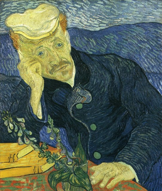 Портрет доктора Гаше :: Ван Гог - Van Gogh фото