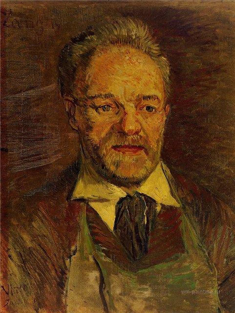 Портрет Пере Танги [ картина - портрет ] :: Ван Гог, описание картины - Van Gogh (Ван Гог) фото