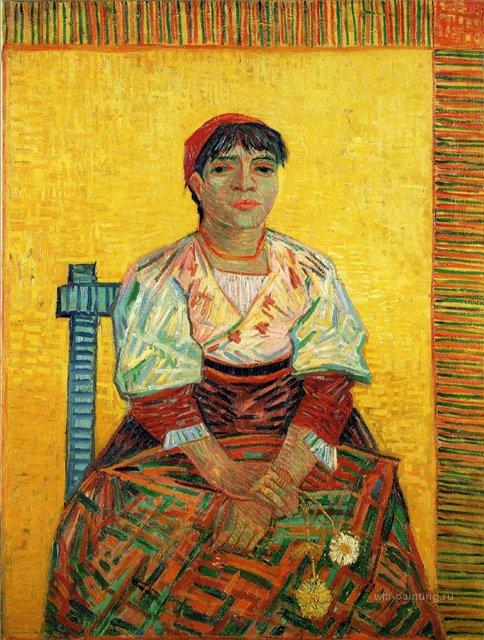 Итальянка [портрет ] :: Ван Гог - Van Gogh (Ван Гог) фото