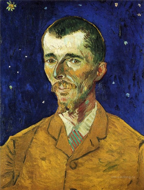 Поэт, портрет Эжена Боша :: Ван Гог, описание картины  - Van Gogh фото