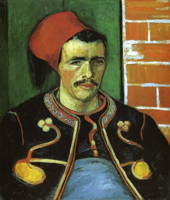 портрет солдата - Зуав :: Ван Гог - Van Gogh фото