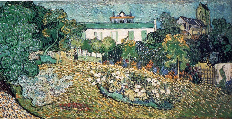 Сад Добиньи :: Ван Гог, описание картины  - Van Gogh (Ван Гог) фото