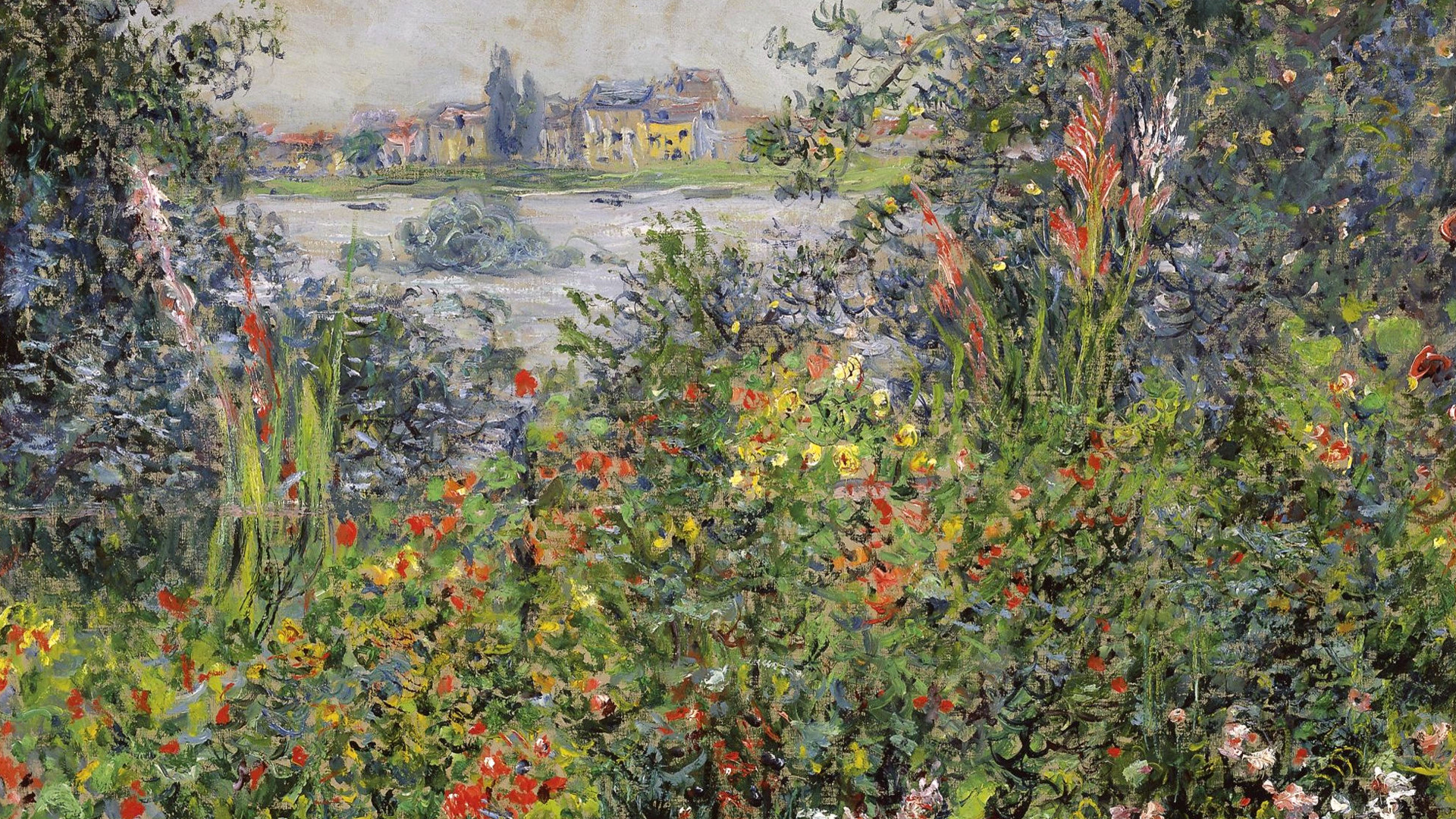 пейзаж < Цветы >:: Клод Моне, описание картины - Claude Monet фото