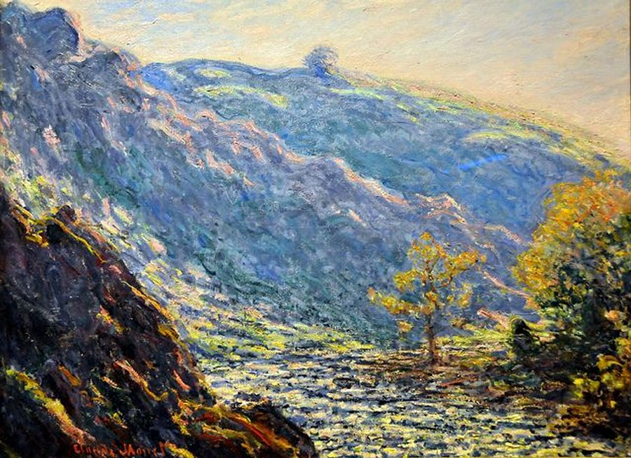 речной пейзаж < Река в солнечном свете >:: Клод Моне, описание картины - Моне Клод (Claude Monet) фото