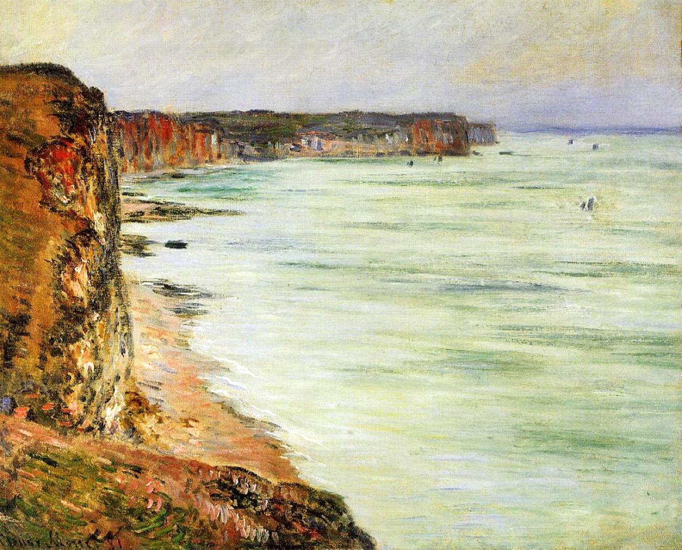 пейзажи - побережье < Тихая погода, Фекам >:: Клод Моне, описание картины - Моне Клод (Claude Monet) фото
