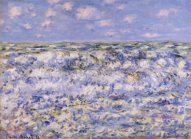 морские пейзажи < Море в Сен-Адрес  >:: Клод Моне, описание картины - Море в живописи ( морские пейзажи, seascapes ) фото