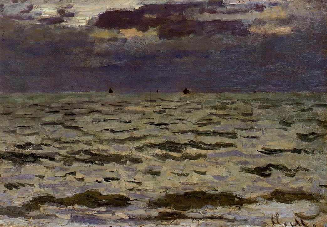 морские пейзажи < Море >:: Клод Моне, описание картины - Море в живописи ( морские пейзажи, seascapes ) фото