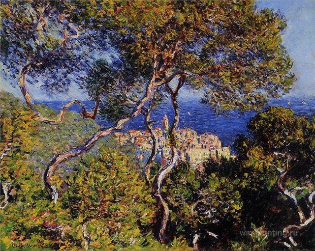 южные пейзажи < Бордигера >:: Клод Моне, описание картины - Моне Клод (Claude Monet) фото