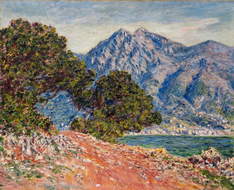 южные пейзажи < Мыс Мартин >:: Клод Моне, описание картины - Claude Monet фото