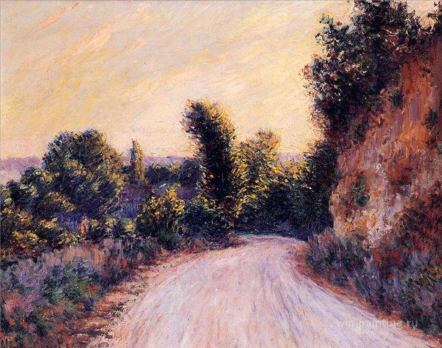 "пейзаж ""Тропа"" :: Клод Моне, описание картины - Claude Monet фото"