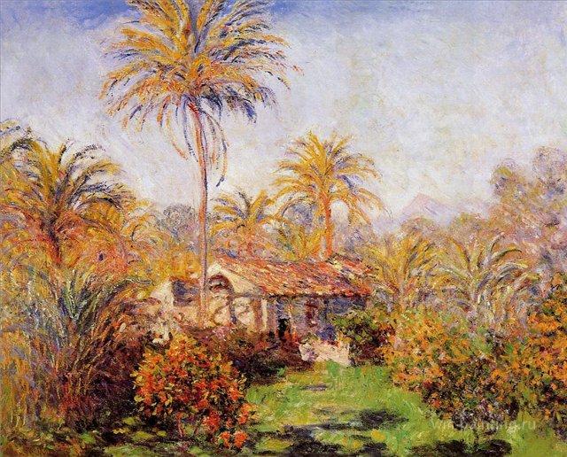 южные пейзажи < Небольшая ферма в Бордигере >:: Клод Моне, описание картины - Моне Клод (Claude Monet) фото