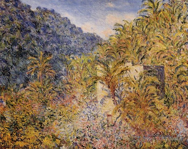 южные пейзажи < Долина >:: Клод Моне, описание картины - Claude Monet фото