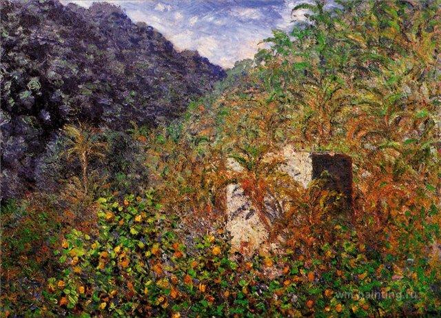 южные пейзажи < Синяя долина >:: Клод Моне, описание картины - Claude Monet фото